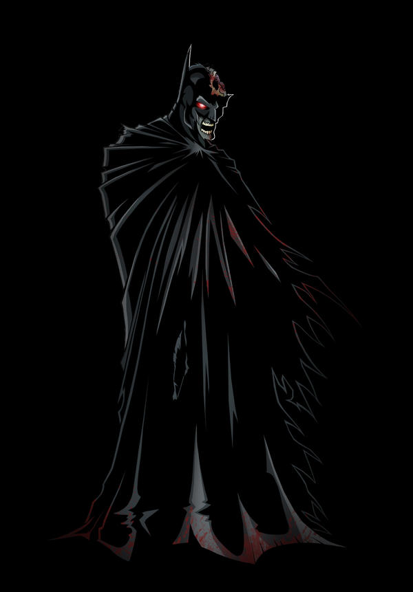 Zombie Batman Comic Zombie Batman by Timel...