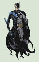 Batman Nightwing Tattoo by TimelessUnknown