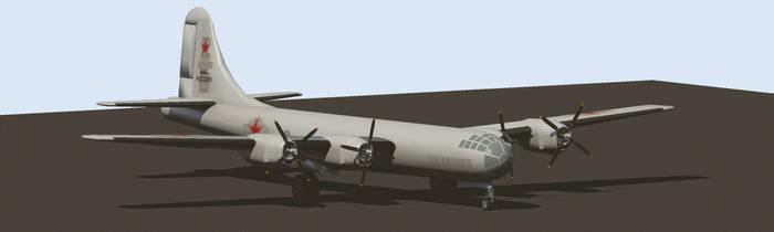 Captured B-29 Bomber