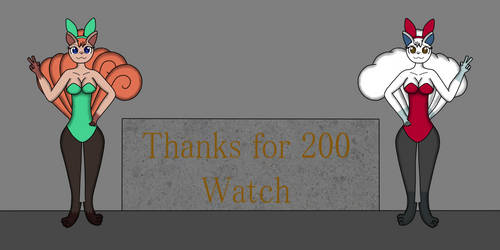 Thanks for 200 watch