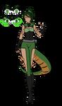 The Joker of Clubs: Sailor Bastnasite Basilisk by iCheddart