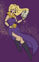 Princess Amethyst by FragmentsofMagic