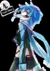 Render 22 -Shino Asada- [Sword Art Online {SAO}] by Yoshi-Akira