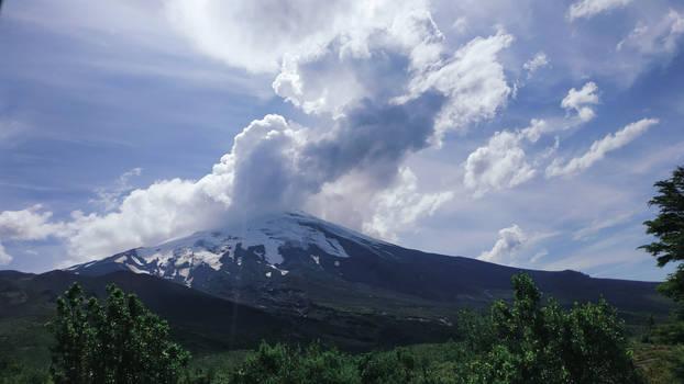 Volcan Osorno (Chile)Una foto