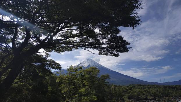 Vista al Volcan Osorno (Chile)
