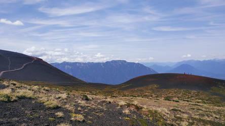 Vista desde cercanias al Volcan Osorno (Chile)