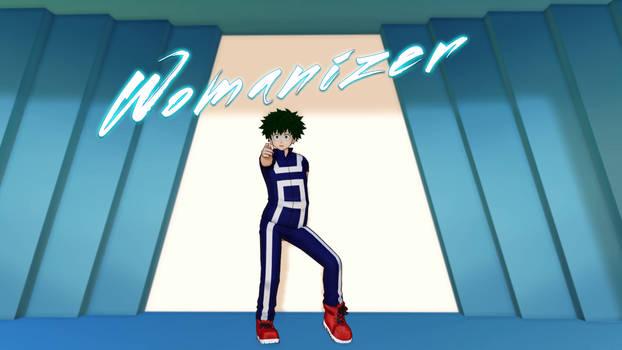 MMD {BnHA - Midoriya Izuku} Womanizer (Britney)