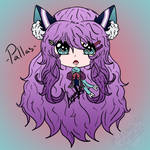 Pallas Chibi Digital Headshot