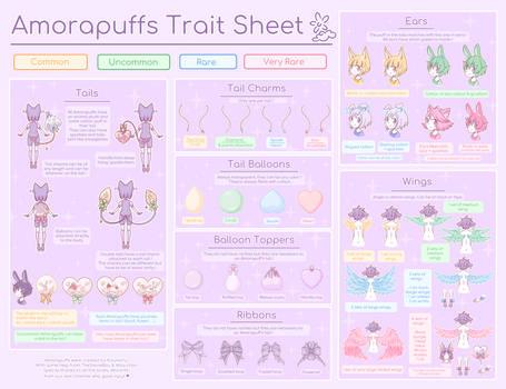 NEW SPECIES! Amorapuff Trait Sheet {Tickets Open}