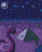 The Great Snake Of Giza by LordPrevious