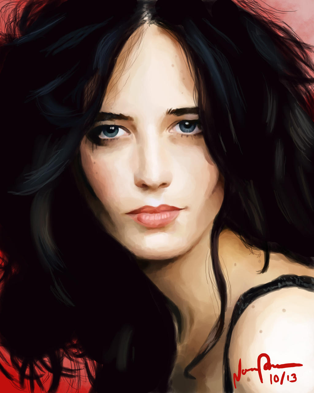 Eva Green by Essinvrok