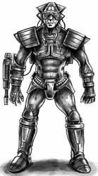 Cyborg elite guard ( System Shock )
