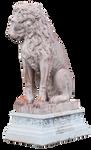 Lion Statue PNG cutout