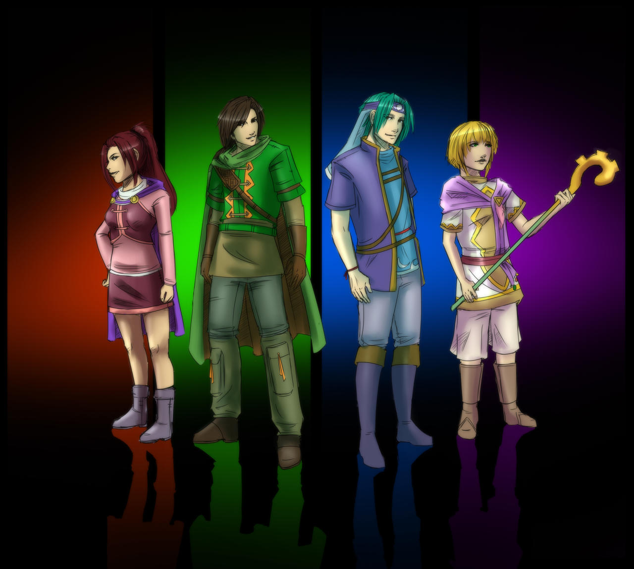 Golden Sun: The Lost Age by zelaeii