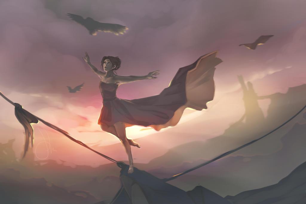 Dreamwalk by zelaeii