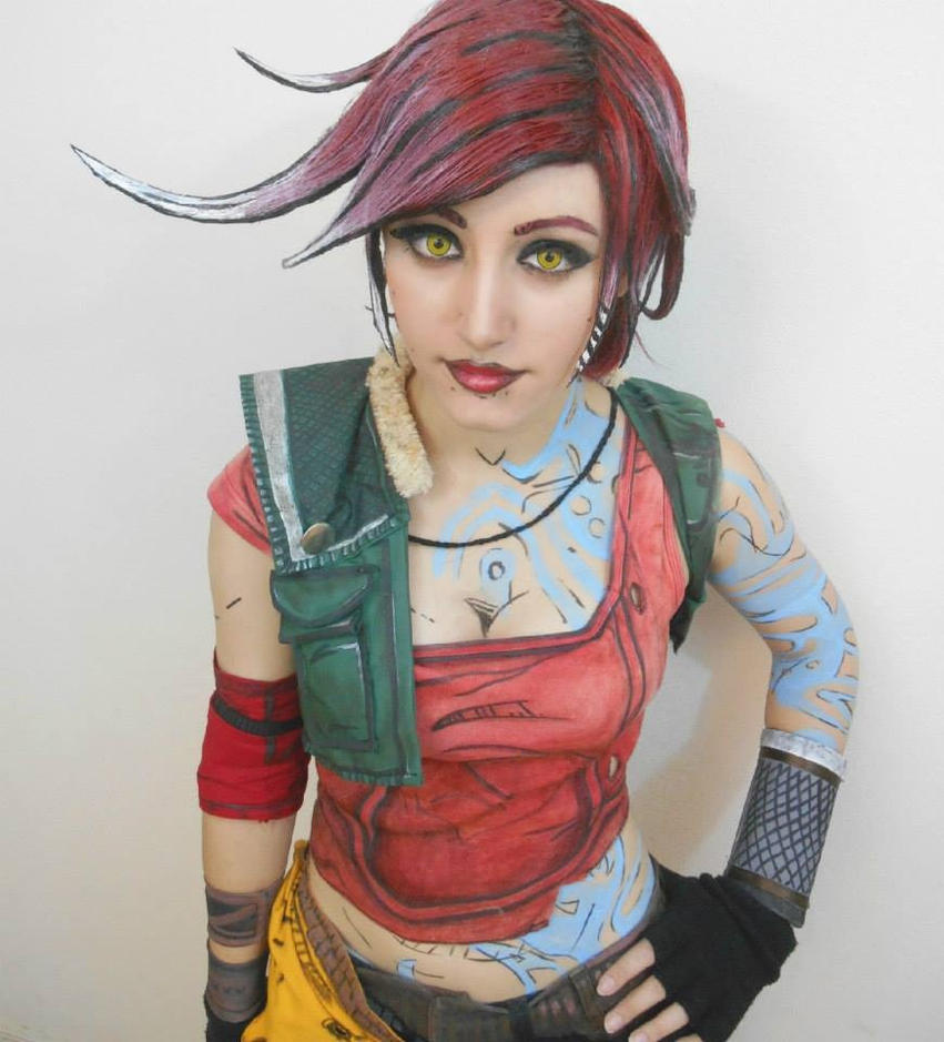 borderlands costume Lilith cosplay