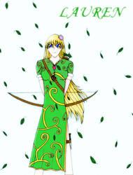 Lauren The Archer by Bleachigo1270