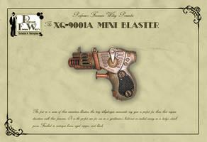 The XQ-9001A Mini Blaster by davincisghost