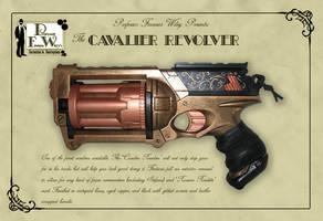 The Cavalier Revolver by davincisghost