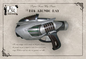 The BT6 Atomic Ray by davincisghost