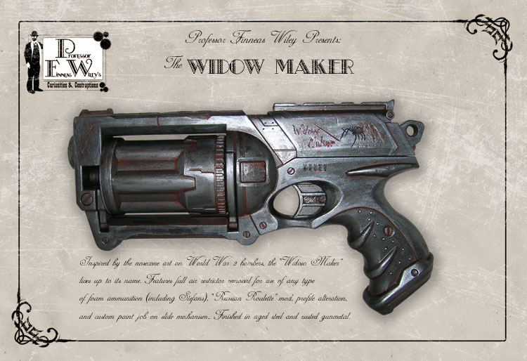 The Widow Maker by davincisghost