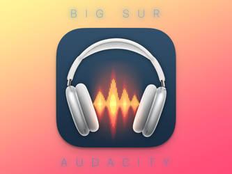 Big Sur - Audacity Icon