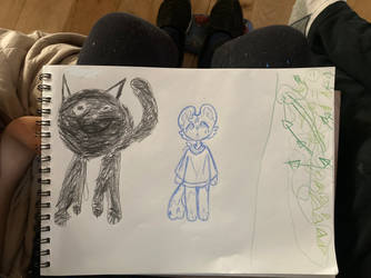 Art by me and my little brothers