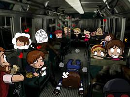 Little Happy Bus- Resident Evil by ClaraKerber