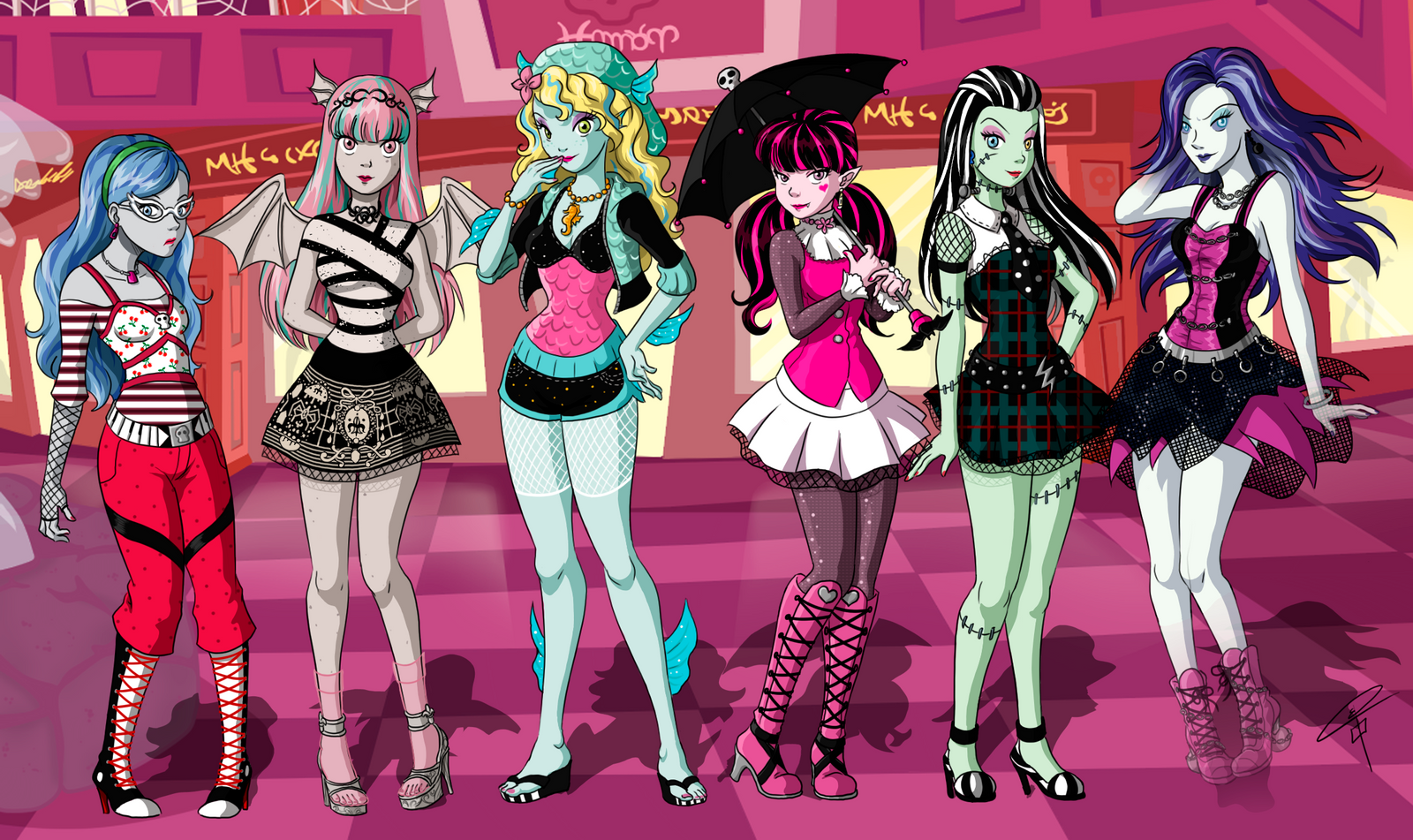 monster high by clarakerber on deviantart