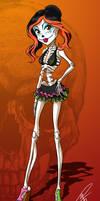 Skelita with bikini