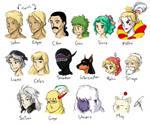 Final Fantasy VI cast