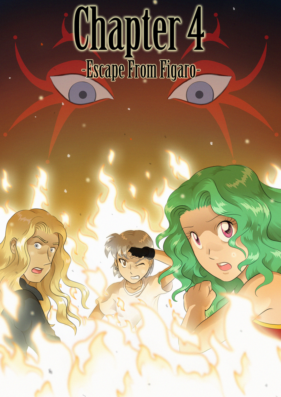 FFVI comic - Chapter 4 cover by ClaraKerber