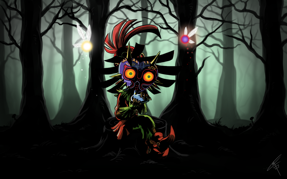 Skull Kid Wallpaper: Skull Kid By ClaraKerber On DeviantArt