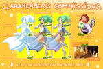 ClaraKerber's Commission Info by ClaraKerber