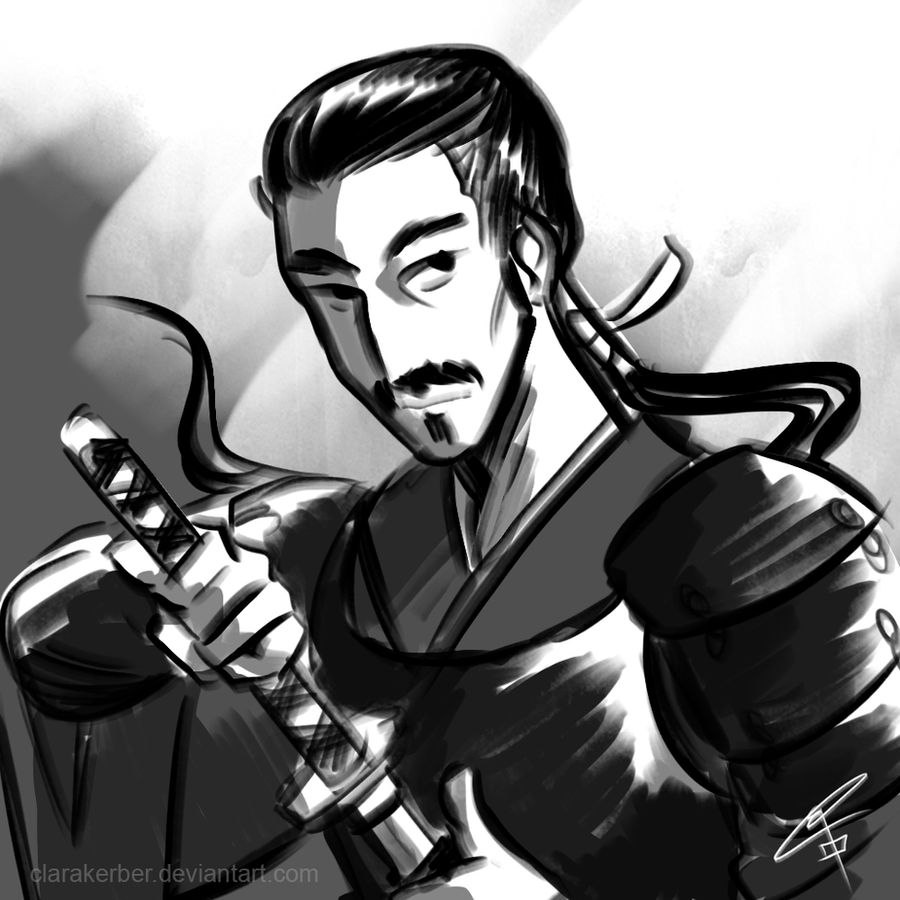 Doman Samurai by ClaraKerber