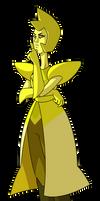 Yellow Diamond by ClaraKerber