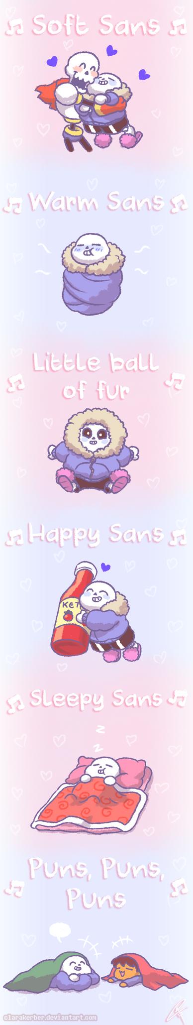 [Comic] Soft Sans Song by ClaraKerber