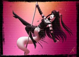 Commission - Dancing Jenda 1 by ClaraKerber