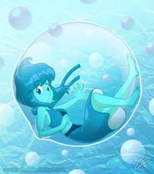 Bubbled Lapis