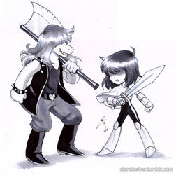 Kris And Susie by ClaraKerber