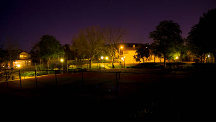 Late Night Park Overview by infinitethrill