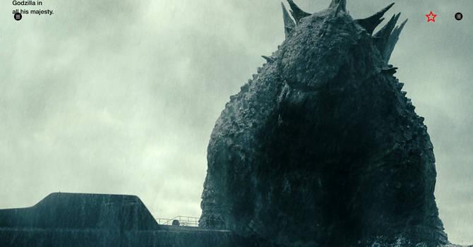 Godzilla's old dorsal spikes? by DarthRaptor97