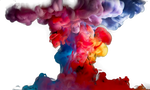 Colorful Smoke Clipart PNG