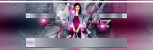 Selena Gomez PSD Header #02 by BrielleFantasy