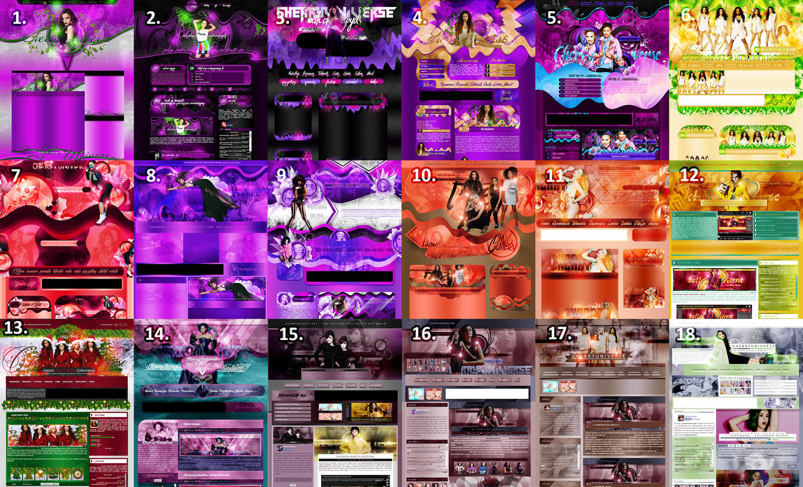 CherryUniverse Design Evolution #2 by BrielleFantasy