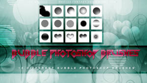 Bubble Photoshop Brushes {15 pieces}