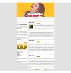 Charli XCX WordPress Theme {Free}