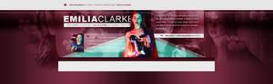 Emilia Clarke PSD Header