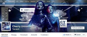 CherryUniverse Facebook cover with Rihanna
