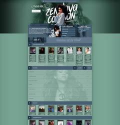 Zendaya Coleman ~ Coppermine Theme by BrielleFantasy